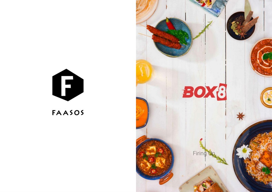 Faaso's and Box 8 Startup splash screen