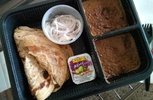 Dal Makhani and Paratha Combo