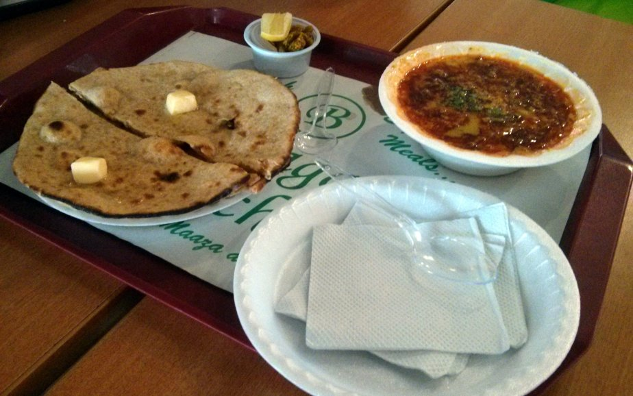 Dal Tadka and Butter Tandoori Roti