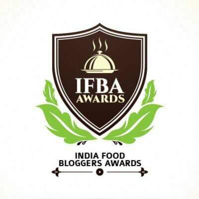 India Food Bloggers Awards 2016