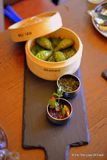 Soya and Basil Dimsums