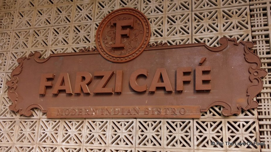 New Menu @ Farzi Cafe, Lower Parel, Mumbai